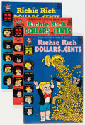 Silver Age (1956-1969):Humor, Richie Rich Dollars and Cents File Copy Long Box Group (Harvey, 1963-82) Condition: Average NM-....