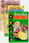 Bronze Age (1970-1979):Humor, Richie Rich Fortunes Plus File Copy Box Lot (Harvey, 1970s)Condition: Average NM-....