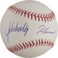 Baseball Collectibles:Balls, Braves Pitching Greats Multi Signed Baseball - Smoltz, Glavine andMaddux....