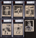 Baseball Cards:Lots, 1939 Play Ball Baseball Collection (40) With Signed Doerr. ...