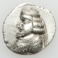Ancients:Greek, Ancients: KINGDOM OF PERSIS. Oxathres. Ca. late 1st century BC. ARdrachm (3.90 gm)....