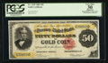Large Size:Gold Certificates, Fr. 1195 $50 1882 Gold Certificate PCGS Apparent Very Fine 30.. ...