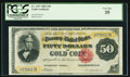 Large Size:Gold Certificates, Fr. 1197 $50 1882 Gold Certificate PCGS Very Fine 35.. ...