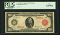 Large Size:Federal Reserve Notes, Fr. 1078b $100 1914 Red Seal Federal Reserve Note PCGS Fine 12PPQ.. ...