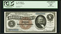 Large Size:Silver Certificates, Fr. 263 $5 1886 Silver Certificate PCGS Apparent Choice New 63.. ...