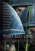 "Movie Posters:War, The Thin Red Line (20th Century Fox, 1998). One Sheet (27"" X 40"")DS Style A. War.. ..."