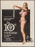 "Movie Posters:Science Fiction, The 10th Victim (Embassy, 1965). French Affiche (23.5"" X 31.5"").Science Fiction.. ..."