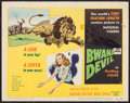 "Movie Posters:Adventure, Bwana Devil (United Artists, 1953). Title Lobby Card (11"" X 14"").Adventure.. ..."