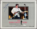 "Movie Posters:Rock and Roll, The Buddy Holly Story (Columbia, 1978). Autographed Half Sheet (22""X 28""). Rock and Roll.. ..."