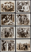 "Movie Posters:Western, Wolf Riders (William Steiner, 1935). Photos (15) (8"" X 10""). Western.. ... (Total: 15 Items)"
