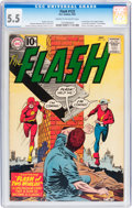 Silver Age (1956-1969):Superhero, The Flash #123 (DC, 1961) CGC FN- 5.5 Cream to off-white pages....