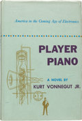 Books:Science Fiction & Fantasy, Kurt Vonnegut, Jr. Player Piano. New York: CharlesScribner's Sons, 1952. First edition of the author's first book....