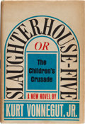 Books:Science Fiction & Fantasy, Kurt Vonnegut, Jr. Slaughterhouse Five or The Children'sCrusade. [New York]: Delacorte Press, [1969]. First edition...