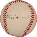 "Autographs:Baseballs, Circa 1950 Charles ""Chief"" Bender Single Signed Baseball...."