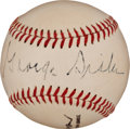 Autographs:Baseballs, 1950's George Sisler Single Signed Baseball. ...