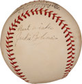 Autographs:Baseballs, Circa 1950 Jackie Robinson Single Signed Baseball....