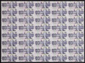 Canadian Currency: , BC-57c $10 1989. Uncut Sheet of 40.. ...