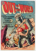 Golden Age (1938-1955):Science Fiction, Out of This World #1 (Avon, 1950) Condition: VG....
