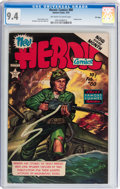 Golden Age (1938-1955):War, Heroic Comics #80 File Copy (Eastern Color, 1953) CGC NM 9.4Off-white to white pages....