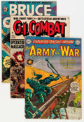 Golden Age (1938-1955):War, Golden Age War Related Group (Various Publishers, 1950s) Condition: GD/VG.... (Total: 38 Comic Books)