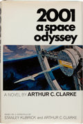Books:Science Fiction & Fantasy, Arthur C. Clarke. 2001: A Space Odyssey. New York: NewAmerican Library, [1968]. First edition, first printing. Si...