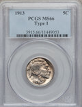 Buffalo Nickels: , 1913 5C Type One MS66 PCGS. PCGS Population (1779/457). NGC Census:(1226/277). Mintage: 30,993,520. Numismedia Wsl. Price ...