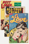 Golden Age (1938-1955):Crime, Comic Books - Assorted Golden Age Crime and Romance Comics Group (Various Publishers, 1940s) Condition: Average GD/VG.... (Total: 34 Comic Books)
