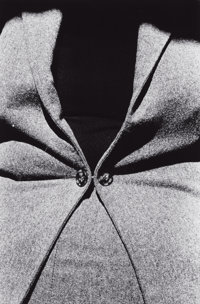 RALPH GIBSON (American, b. 1939) Untitled (Buttoned Jacket), 1975 Gelatin silver 18 x 12 inches (