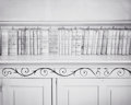 Photographs:20th Century, WILLIAM CLIFT (American, b. 1944). Law Books, Hinsdale CountyCourt House, Colorado, 1975. Gelatin silver. 7-1/2 x 9-3/8...