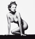 Photographs, PATRICK DEMARCHELIER (French, b. 1943). Helena, New York, 1992. Vintage gelatin silver. 19-1/4 x 19 inches (48.9 x 48.3 ...