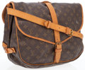 Luxury Accessories:Bags, Louis Vuitton Classic Monogram Canvas Saumur GM Messenger Bag . ...