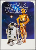 "Movie Posters:Science Fiction, C-3PO & R2-D2 from Star Wars (Image Factory, 1977). Poster (20""X 28""). Science Fiction.. ..."