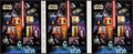 """Movie Posters:Science Fiction, Star Wars (US Postal Service, 2007). Uncut US Stamp Proof Sheet (9.5"""" X 24""""). Science Fiction.. ..."""