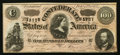 Confederate Notes:1864 Issues, T65 $100 1864 PF-12 Cr. 501.. ...