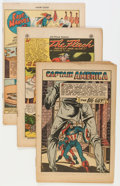 Golden Age (1938-1955):Miscellaneous, Comic Books - Assorted Golden and Silver Age Comics Group (Various Publishers, 1940s-'60s) Condition: Coverless.... (Total: 26 Comic Books)