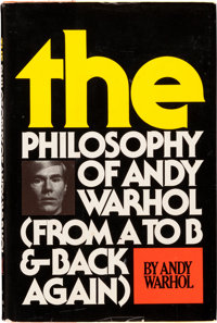 Andy Warhol. The Philosophy of Andy Warhol (From A to B and Back Again). New York: Harcourt Bra