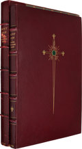 Books:Fine Bindings & Library Sets, George Bernard Shaw. Saint Joan: A Chronicle Play in Six Scenes and an Epilogue. With Sketches by C. Ricketts. L...