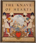 Books:Color-Plate Books, [Maxfield Parrish, illustrator]. Louise Saunders. The Knave of Hearts. With Pictures by Maxfield Parrish. New Yo...