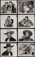 """Movie Posters:Western, The Last Round-Up (Paramount, 1934). Portrait and Scene Photos (38) (8"""" X 10""""). AKA The Border Legion. Western.. ... (Total: 38 Items)"""