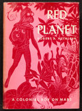 Books:Science Fiction & Fantasy, Robert Heinlein. Red Planet. New York, 1949. First edition, first printing.. ...