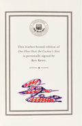Books:Literature 1900-up, Ken Kesey. One Flew Over the Cuckoo's Nest. Easton Press,[1999]. Signed by Kesey....
