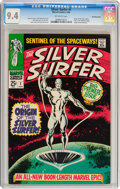 Silver Age (1956-1969):Superhero, The Silver Surfer #1 Bowling Green pedigree (Marvel, 1968) CGC NM9.4 Off-white pages....