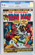 Bronze Age (1970-1979):Superhero, Iron Man #55 (Marvel, 1973) CGC NM+ 9.6 White pages....