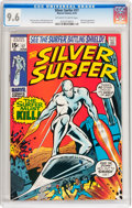 Bronze Age (1970-1979):Superhero, The Silver Surfer #17 (Marvel, 1970) CGC NM+ 9.6 Off-white to whitepages....