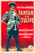 "Movie Posters:Adventure, Fanfan la Tulipe (Pathé, 1925). French Affiche (31"" X 46.5"").. ..."