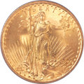 Saint-Gaudens Double Eagles, 1907 $20 Arabic Numerals MS65 PCGS....