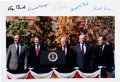 Autographs:U.S. Presidents, Photograph Signed by Five Former Presidents....