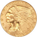 Indian Quarter Eagles, 1929 $2 1/2 MS65 PCGS....