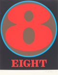 Prints:Contemporary, ROBERT INDIANA (American, b. 1928). Eight (from Numbers),1968. Screenprint on paper. 23-1/2 x 19-5/8 inches (59.7 x 49....