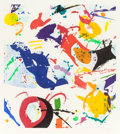Post-War & Contemporary:Contemporary, SAM FRANCIS (American, 1923-1994). Untitled (SFE 082), 1992.Color etching. 26 x 23-1/4 inches (66.0 x 59.1 cm). Ed. 12/...